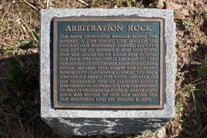 Arbitration rock