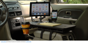 flex office in car